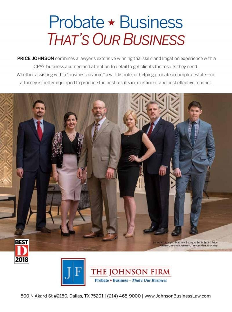 Dmag ad for the Johnson Firm
