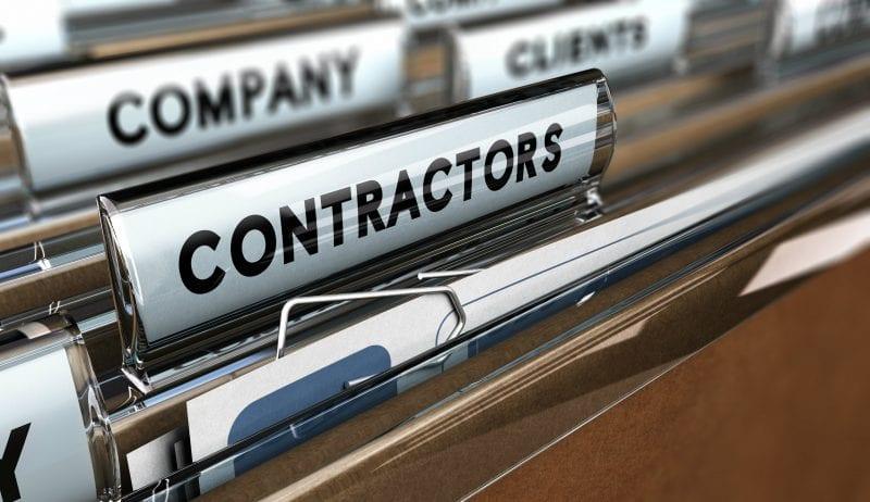 Contractor file