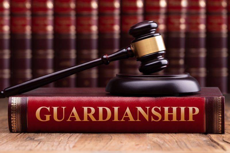 guardianship with gavel